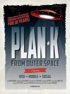 Plan K from Outer Space by plankdesign, via Flickr