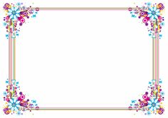Frame Border Design, Page Borders Design, Framed Wallpaper, Daily Planner Pages, Powerpoint Background Design, Frame Background, Embroidery Motifs, Borders And Frames, Line Sticker