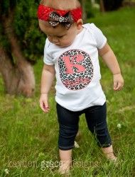 Jungle Girl Personalized Printed Tee