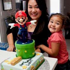 Super Mario Cake by JohnnyCakesLV.COM