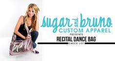 This week we are bringing you inside the fun�world of Sugar and Bruno Custom. Did you know that you can order your favorite S&B apparel with a custom design based on your upcoming recital theme? Our designers here at S&B work had to create a design your team can rock at this years performances. We have been working hard this�season�to create some