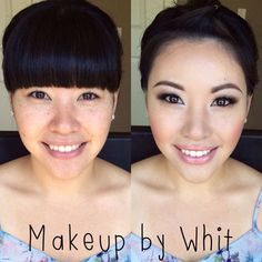 #BeforeAndAfter #BridalMakeup inspiration by @makeupbywhit beautifying client with our pre-set cluster eyelash extensions  • ⒮⒣⒪⒫ ⒫⒭⒪⒟⒰⒞⒯⒮ ⒜⒯ www.shopeyemimo.com/categories/Eyelash-Extensions