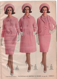 vintage fashion 1965