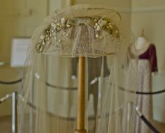 Head Dress By: Kate Winslet who played Marianne Dashwood in Sense and Sensibility 1995 Version /  Picture taken at Belsay Hall & Gardens