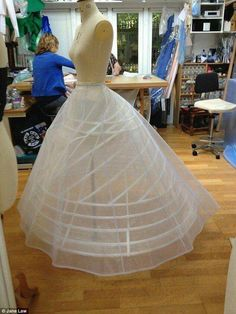 Estrutura da saia