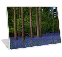 Bluebell wood photograph on Laptop Skin, iPhone or Samsung phone cover,  ipad cover and clothing by Karen Cross of Kciphoto