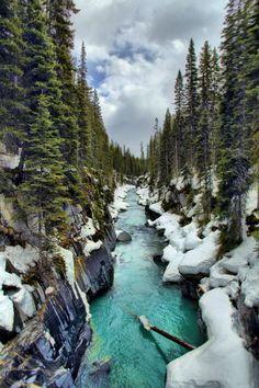 celestiol:  Vermilion River, Kootenay National Park  byjspierry.