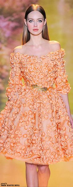 ❀ Flower Maiden Fantasy ❀ beautiful photography of women and flowers - Zuhair Murad Spring 2014 Couture