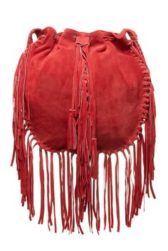 Red and fringe! LOVE this bag!