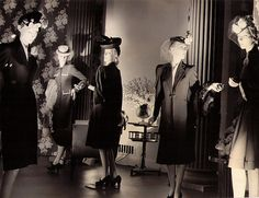 1940s B. Altman Shop Window Mannequins | Blogged about here.… | Flickr