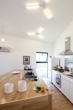 Nice Clean Interiors - BIG small House by Anonymous Architects