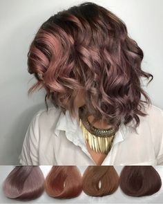 Pixelated The new hair color revolution – My hair and beauty Chocolate Malva, Chocolate Mauve Hair, Mocha Hair, Blond Rose, Cabelo Rose Gold, Corte Y Color, Fall Hair Colors, Hair Color And Cut, Grunge Hair
