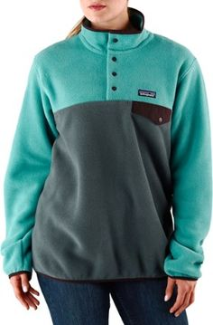 Patagonia Women's Re-Tool Snap-T Fleece Pullover Tubular Blue XL ...