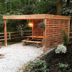 The pergola kits are the easiest and quickest way to build a garden pergola. There are lots of do it yourself pergola kits available to you so that anyone could easily put them together to construct a new structure at their backyard. Building A Pergola, Pergola Swing, Metal Pergola, Deck With Pergola, Cheap Pergola, Wooden Pergola, Covered Pergola, Backyard Pergola, Pergola Shade