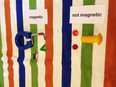 Preschool Montessori Science - Magnetic Vs. Not Magnetic