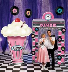 50's decoration ideas