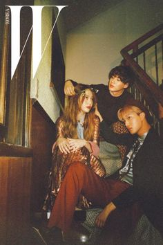 f(x) Krystal, EXO Kai and SHINee Tae Min - W Magazine August Issue '15