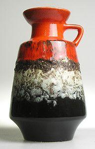 Dümler Breiden Fat Lava West German Pottery Modern Mid Century Vintage Fat Lava | eBay