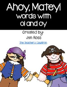 Ahoy, Matey! Words with oi and oy