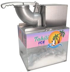 For those who savor desserts, they must love snow cones. Check out the Top 10 Best Snow Cone Makers and Shaved Ice Machines available now. Ice Truck, Food Truck, Concession Food, Party Stations, Snow Cone Machine, Sleepover Birthday Parties, Shave Ice, Best Shave, Snow Cones