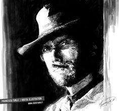 Clint. Digital Illustration | Francesco Turlà | www.locostudio.it