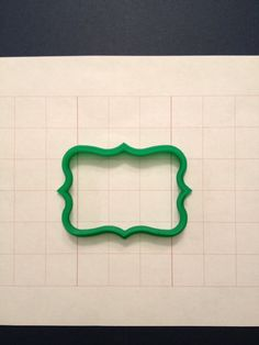 Plaque 14 Cookie Cutter by PlasticsinPrint on Etsy, $6.00
