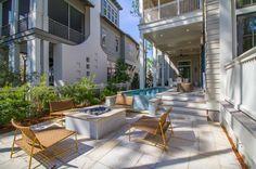 Coastal elegance defines this gorgeous Santa Rosa Beach home