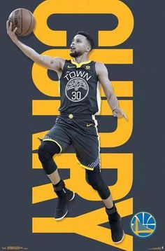 A great poster of NBA superstar Stephen Curry of the championship-winning Golden State Warriors basketball team! Need Poster Mounts. Stephen Curry Quotes, Stephen Curry Poster, Nba Stephen Curry, Warriors Stephen Curry, Stephen Curry Basketball, Nba Basketball, Fantasy Basketball, Basketball Stuff, Basketball Birthday