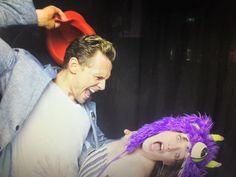 Tom Hiddleston. #KongSkullIsland party.