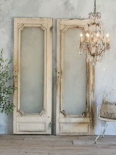 French doors decoration