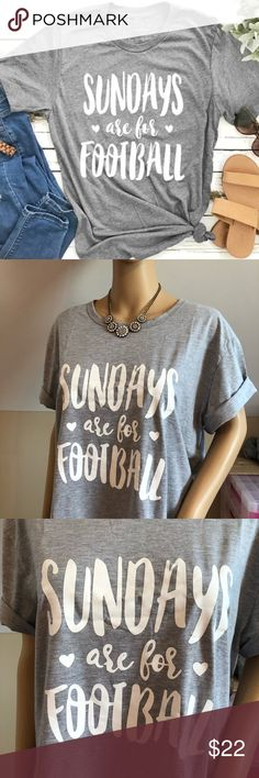 192577f3bb62b Football 🏈 Tee Brand new in package, 70% cotton and 30% polyester.