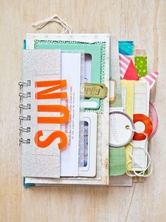 #papercraft #scrapbook #minialbum    Pier Pocket Mini Album - i've never heard of this girl - so SO talented!