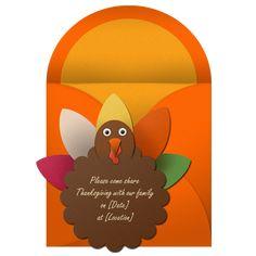 Ideas for Thanksgiving Invites...