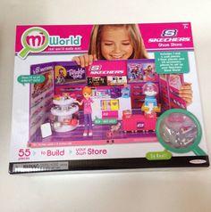 MiWorld Skechers Mini Miniature Doll Shoe Store Collectible Mi World New #JakksPacific