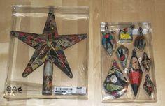 Star Trek Christmas ornaments #DIY Star Trek Christmas, Christmas Ornaments, Comic Books, Stars, Comics, Diy, Xmas Ornaments, Build Your Own, Bricolage