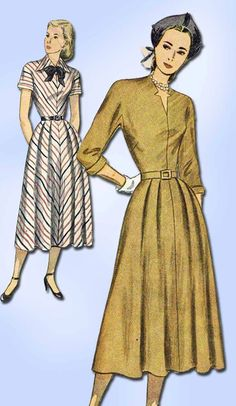 Excited to share the latest addition to my #etsy shop: 1940s Vintage Simplicity Sewing Pattern 2360 Misses Dress w Kimono Sleeve Sz 12 http://etsy.me/2ELoZEA #patterns #sewingpatterns #missespatterns #1940spatterns #ladiespattern #vintagepattern #dresspattern