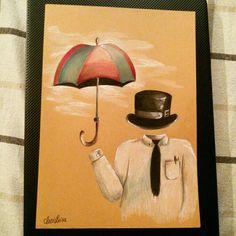 Hello sir! Hello umbrella!