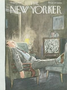 The New Yorker - Saturday, August 11, 1956 - Issue # 1643 - Vol. 32 - N° 25 - Cover by : Perry Barlow