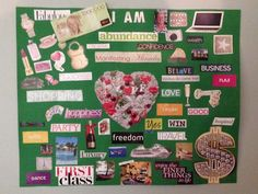 How To Create A Powerful Vision Board!  My top tips for creating a vision board the rocks.