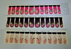 Floral Nail wrap, Pink nail wrap, Water Decals, Burgundy Nail wrap, Purple nail art, Nail Design, Roses nail wrap, Nail sliders