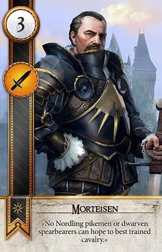 Morteisen (Gwent Card) - The Witcher 3: Wild Hunt