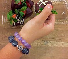 Merlinite Bracelet / Meditation / Boho by angelovajewelry on Etsy