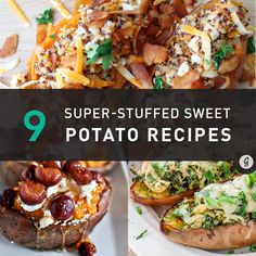 9 Sweet and Savory Stuffed Sweet Potato Recipes