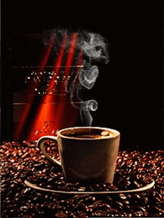 a cup of morning love! Coffee Gif, Coffee Aroma, Coffee Love, Coffee Humor, Coffee Quotes, Coffee Break, Coffee Shop, Coffee Cups, Gif Café