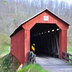 Covered Bridge in Ohio.
