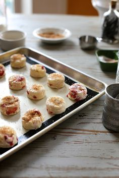 tiny strawberry cream scones | Joy the Baker | Flickr