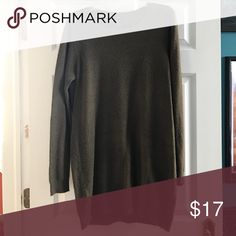 Long sleeve sweater dress wool material long sleeve sweater dress Forever 21 Dresses Long Sleeve