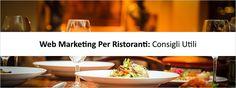 #webmarketing #seo #localseo #ristoranti Alcuni ottimi consigli che mostrano come promuovere un ristorante sul web.