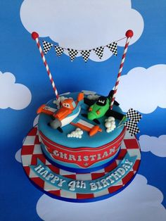 Disney Planes Cake... by Sevenoakspartycakes.co.uk