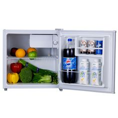 Midea 45L Mini Manual Defrost Fridge 220V/50Hz Single Door Portable Refrigerator High Quality Food Cooler Box
